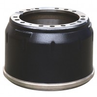 Brake Drum, 337mm PCD / 410mm  x 235mm - Mercedes Rear Bus