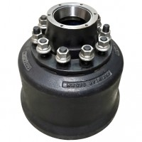 Hub & Brake Drum Assembly, 10 / 225 PCD - ROR BMX