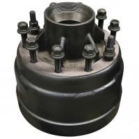 Hub & Brake Drum Assembly, 10 / 335 PCD - FUWA K HITCH
