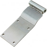 SCTEG Vans / Curtain Sider Square Hinge - Stainless Steel.