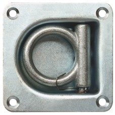 Recessed Floor Ring - Zinc Plated