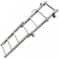7 Step Tipper Truck Ladder - Aluminium