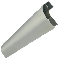 Side Guard Corner Element - Aluminium