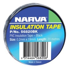 Narva Insulation Tape 20m - Black