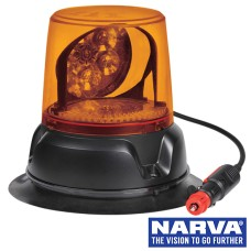 NARVA LED Aeromax Rotating Beacon With Magnetic Base - Amber