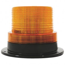Strobe With Fixed Mount Base - Amber
