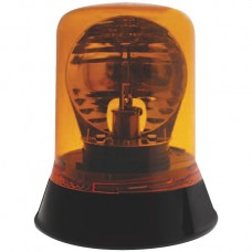 Halogen Rotating Beacon With Magnetic Base - Amber