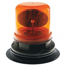 LED Rotating Beacon With Magnetic Base - Amber