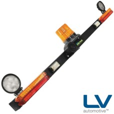 LV LED Mining Bar with Work Lamps
