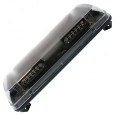Mini LED Light Bar - Clear Lens / Amber LED's