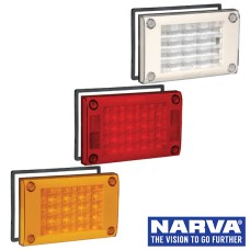 Narva Model 48 LED Rear Direction Lamps with Retro-Fit Gasket & Security Caps