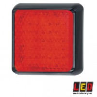 LED100RM LED Red Lamp - Stop / Tail