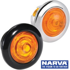 Narva Model 2 / LED Side Marker Lamp with 0.2m Cable  - Amber