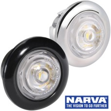 Narva Model 2 / LED Front End Outline Marker Lamp with 0.2m Cable  - White