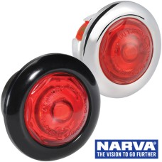Narva Model 2 / LED Rear End Outline Marker Lamp with 0.2m Cable  - Red