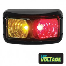 LED Rectangle Marker Lamp - Red / Amber
