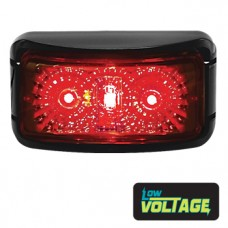 LED Rectangle Marker Lamp - Red