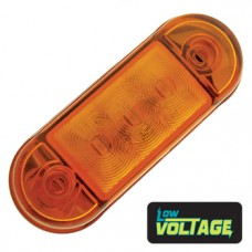 LED Low Profile Marker Lamp - Amber / Amber