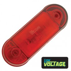 LED Low Profile Marker Lamp - Red / Red