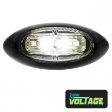 LED Oval Marker Lamp - White