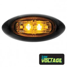 LED Oval Marker Lamp - Amber