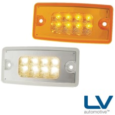 LV LED Cab Marker Lamps - 116mm x 34mm