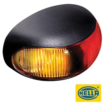 Hella DuraLed Side Marker - Red / Amber