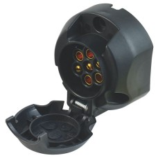 U-connect 7 Pin High Impact DIN Trailer Socket - Plastic