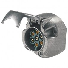 Hella 7 Pole Trailer Socket - Metal