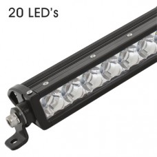 ZETA LED Industrial Spec Driving Light Bars - 20 LED's