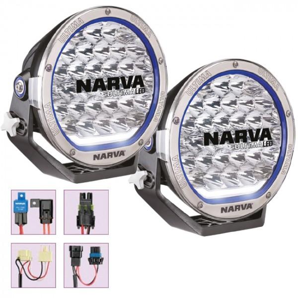 NARVA Ultima 215 LED High Powered Driving Light Kit on