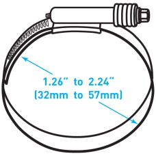 "Breeze Constant Torque® Clamp  - 1.26"" to 2.24"" Working Range"