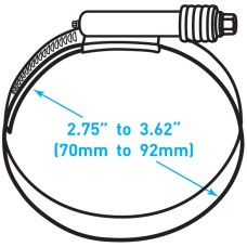 "Breeze Constant Torque® Clamp  - 2.75"" to 3.62"" Working Range"