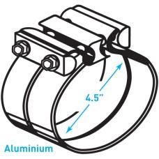 """Exhaust Torctite Lap Clamp, Aluminium - 4.5"""""""