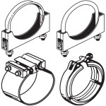 Exhaust Clamps Band, Lap, Butt & Easyseal