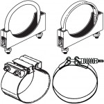 Truck Exhaust Clamps