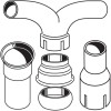 Exhaust Y-Junction, Adaptors & Connectors