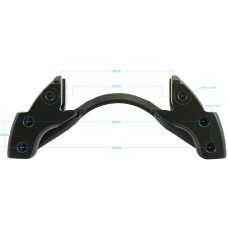 Caliper Carrier Saddle - Meritor DX195 Steer Application