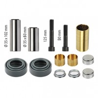 Caliper Rear Bush & Pin Kit - Meritor C & D Duco