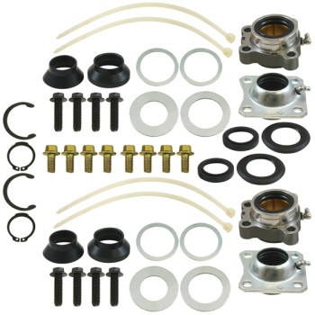Camshaft Bush, Washer & Circlip Kit - 1 Axle Set - Rockwell Inner