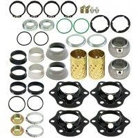 Camshaft Bush, Washer & Circlip Kit - 1 Axle Set - BPW New Generation