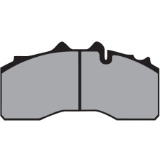 Disc Brake Pads, BPW (After Market) - 29228