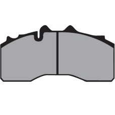 Disc Brake Pads, BPW (After Market) - 29227