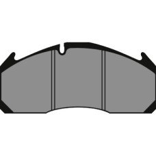Disc Brake Pads, Meritor D-Duco (After Market) - 29125