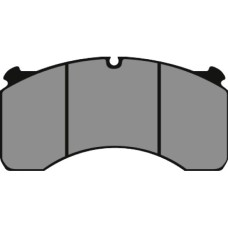 Disc Brake Pads, Meritor DX195 (After Market) - 29124