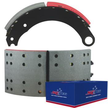 "FRAS-LE AF557 Lined Brake Shoe  - G.P shoes ""P"" type - 16.5"" x 7"". Comes with Hardware"