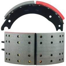 "FRAS-LE AF557 Lined Brake Shoe  -  Q Brake - 16.5"" x 7"""
