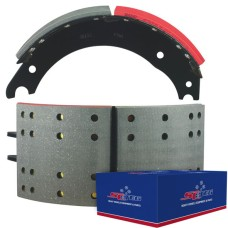 "FRAS-LE AF557 Lined Brake Shoe  -  Q Brake - 16.5"" x 7"". Comes with Hardware Kit"