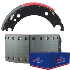 FRAS-LE AF557 Lined Brake Shoe  - BPW brake 95 - 420 x 180mm. Comes with Hardware