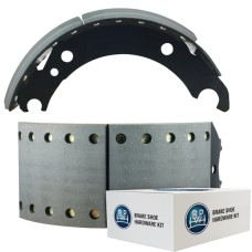 Textar Lined Brake Shoe  - BPW brake 95 - 420 x 180mm. Comes with Hardware